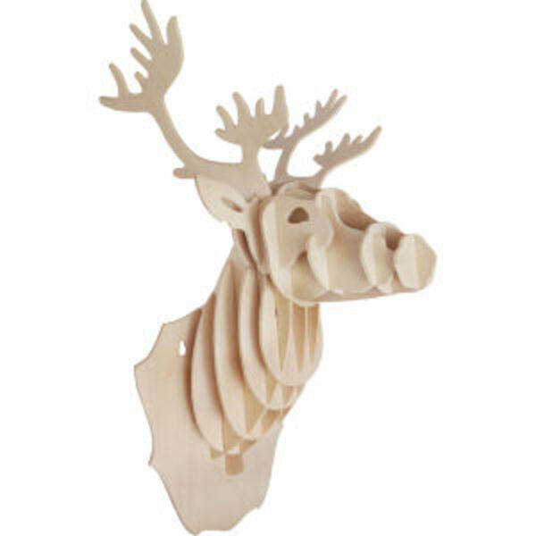 Wooden%20stag%20head
